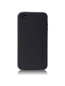 Funda de silicona Case-Mate negra iPhone 4