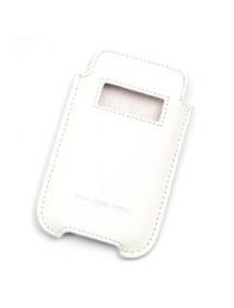 Funda de piel Dolce Vita blanca con ventana