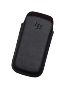Funda de piel Blackberry HDW-29556 negra