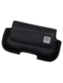 Funda de piel Blackberry HDW-18965 negra