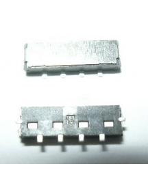 Botón de bloqueo interno Nokia X6