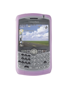 Funda silicona Blackberry HDW-13840-001 rosa