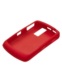 Funda silicona Blackberry HDW-13840-003 roja