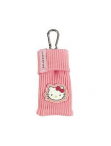 Funda calcetín Hello Kitty rosa