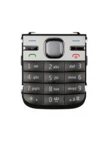Teclado Nokia C5 gris oscuro