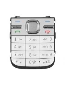 Teclado Nokia C5 blanco