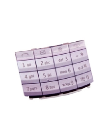Teclado Nokia X3-02 lila