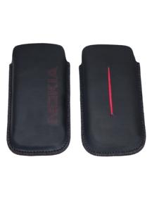 Funda de piel Nokia C5-03 negra