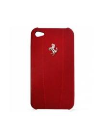 Funda Ferrari Modena en piel roja para iPhone 4 - 4S