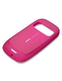 Funda de silicona Nokia CC-1009 rosa con blister