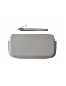 Funda de piel Nokia CP-384 blanca sin blister