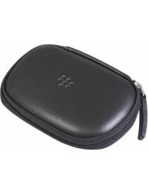 Funda de accesorios en piel Blackberry HDW-18422 negra