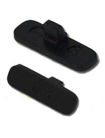 Botón de bloqueo externo Nokia X6 negro