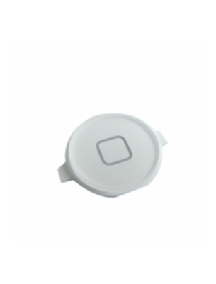 Botón home externo Apple iPhone 4S blanco