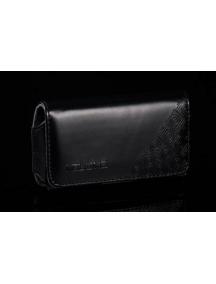 Funda de piel Telone Milo negra HTC HD2