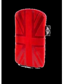 Funda cartuchera Mini Cooper bandera roja