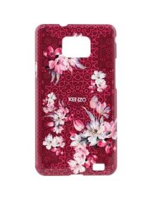 Protector rígido Kenzo Samsung i9100 Galaxy S II rojo