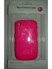 Protector rígido New Fashion rosa Blackberry 8520