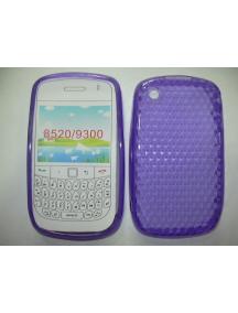 Funda TPU Blackberry 8520 lila
