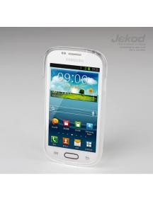 Funda TPU + lámina disp. Jekod Samsung i8190 Galaxy S III mini t