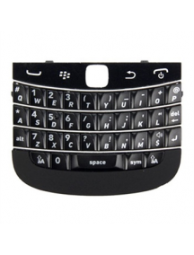 Teclado Blackberry 9900 negro sin embellecedor