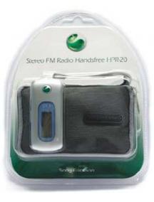 Manos libres Sony Ericsson HPR-20 con receptor de radio y funda