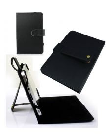 """Funda tablet 7"""" universal negra trípode"""