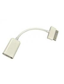 Cable OTG Samsung Galaxy Tab blanco