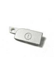 Botón de encendido externo Nokia X6 blanco