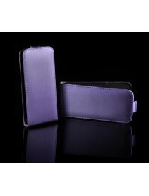 Funda solapa Telone Neo Slim Samsung S5360 Galaxy Y lila