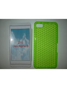 Funda TPU Blackberry Z10 lima