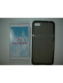 Funda TPU Blackberry Z10 negra