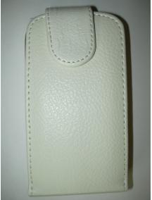 Funda solapa Blackberry Z10 blanca