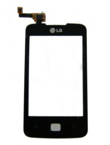 Ventana táctil LG E510 Optimus Hub negra