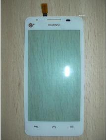 Ventana tactil Huawei Ascend G510 - Orange Daytona blanca