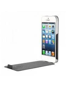 Funda de piel bugatti flip iPhone 5