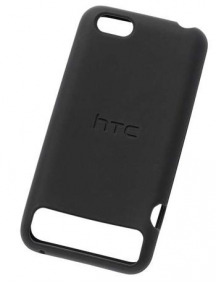 Funda Silicona HTC One V SC S750 negra