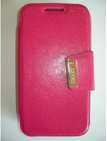 Funda libro Alcatel VF975 Vodafone Smart 3 rosa