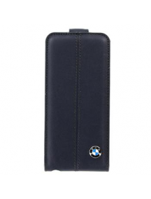 Funda solapa de piel BMW BMFLP5LN iPhone 5 - 5S