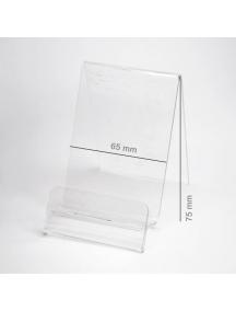 Expositor plexi 65mm