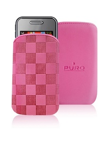 Funda cartuchera Iphone Puro rosa