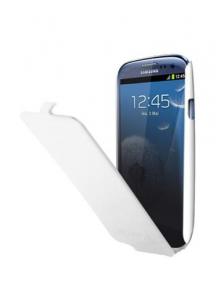 Funda solapa Samsung ETUISMGS3W Galaxy S3 i9300 blanca
