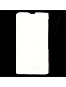 Funda libro Sony SMA5136W Xperia Z1 C6903 L39h blanca