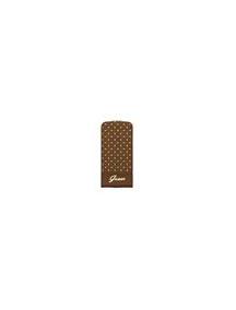 Funda solapa Guess GUFLP5PEC iPhone 5 - 5S marrón