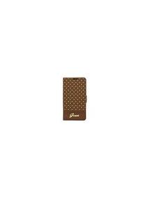Funda libro Guess GUFLBKS4PEC Samsung Galaxy S4 i9500 marrón