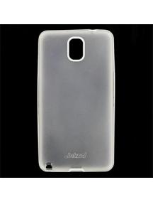 Funda TPU + lámina Jekod Samsung Galaxy Note 3 N9005 opaca blanc