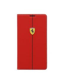 Funda libro Ferrari Formula1 Samsung G900 Galaxy S5 roja FEFORBB