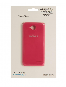 Funda TPU Alcatel Idol Mini 6012 PC6012 rosa