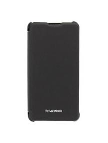 Funda libro LG Optimus F6 D505 negra original