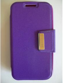 Funda libro LG G2 mini D620 lila